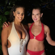 Ashley Graham et Brooke Shields. Mai 2018.
