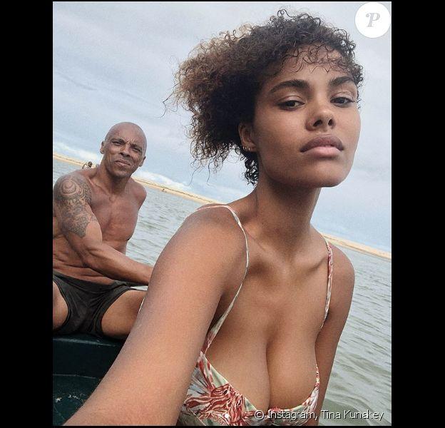 Tina Kunakey avec son père Robin