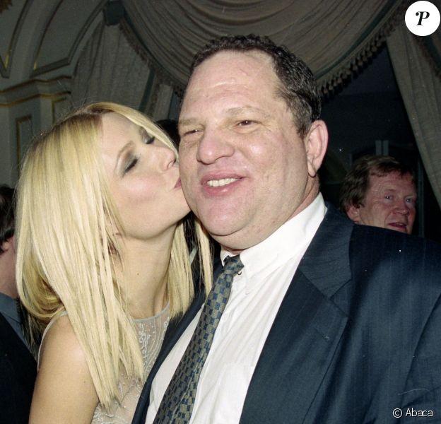Harvey Weinstein et Gwyneth Paltrow à New York City, le 12 mars 1998.