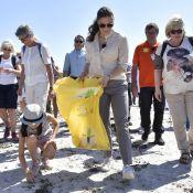 Princesse Victoria : Une promenade à la plage qui vire au ramassage d'ordures