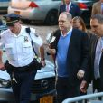 Le producteur déchu Harvey Weinstein s'est présenté vendredi à un commissariat du sud de Manhattan, à New York le 25 mai 2018.