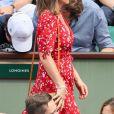 Pippa Middleton (enceinte) lors des Internationaux de Tennis de Roland-Garros à Paris, France, le 27 mai 2018. © Jacovides-Moreau/Bestimage