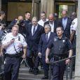 Harvey Weinstein au tribunal de New York avec son avocat Ben Brafman, le 5 juin 2018. Weinstein vient de plaider non coupable.