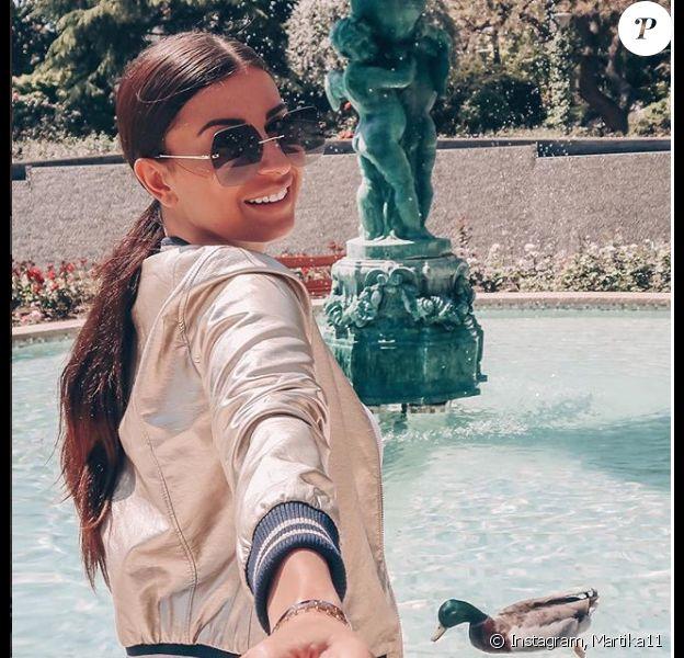 Martika et son compagnon sur Instagram, mai 2018