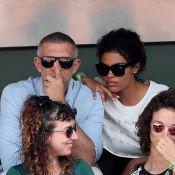 Roland-Garros 2018 : Vincent Cassel et Tina Kunakey, des fiancés attentifs