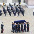 Obsèques de Serge Dassault en la cathédrale Saint-Louis-des-Invalides suivi des honneurs militaires à Paris. Le 1er juin 2018 © Coadic Guirec / Bestimage