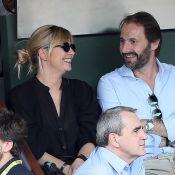 Flavie Flament et Benjamin Castaldi : les ex réunis à Roland-Garros