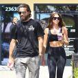 Exclusif - Scott Disick et sa compagne Sofia Richie sont finalement toujours ensemble malgré les rumeurs de séparation et se baladent en amoureux à Calabasas, le 4 juin 2018.