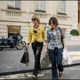 Maria del Carmen, mère de la reine Maxima des Pays-Bas (Maxima Zorreguieta), et Inés Zorreguieta, sa soeur de 14 ans sa cadette, à Buenos Aires en Argentine en avril 2008. Inés est morte à 33 ans le 6 juin 2018, un possible suicide.