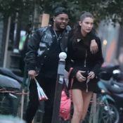 Bella Hadid : Balades romantiques à Paris avec son amoureux The Weeknd