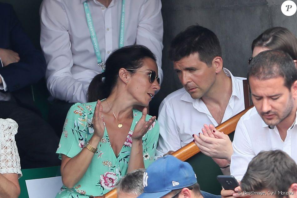 Thomas Sotto A Roland Garros Le 9 Juin 2018 C Cyril Moreau Bestimage Purepeople