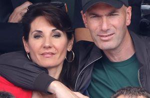 Zinédine Zidane câlin comme jamais avec sa femme à Roland-Garros