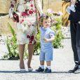 Le prince Alexander - Baptême de la princesse Adrienne de Suède à Stockholm au palais de Drottningholm en Suède le 8 juin 2018