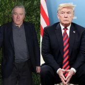 "Donald Trump, ridicule, descend Robert De Niro, ""un individu au QI très bas"""