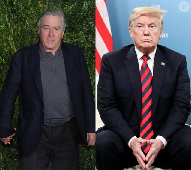 Donald Trump clashe Robert de Niro (juin 2018)
