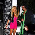 Shauna Sand et un nouvel ami, à Hollywood. 13/04/09