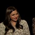 Mindy Kaling et Cate Blanchett en interview pour Ocean's 8 (juin 2018)