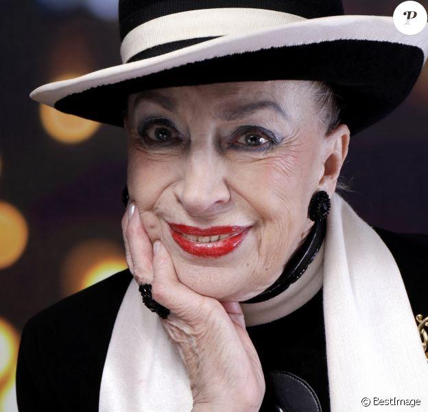 Portrait de Geneviève de Fontenay le 10/02/2016 - Paris