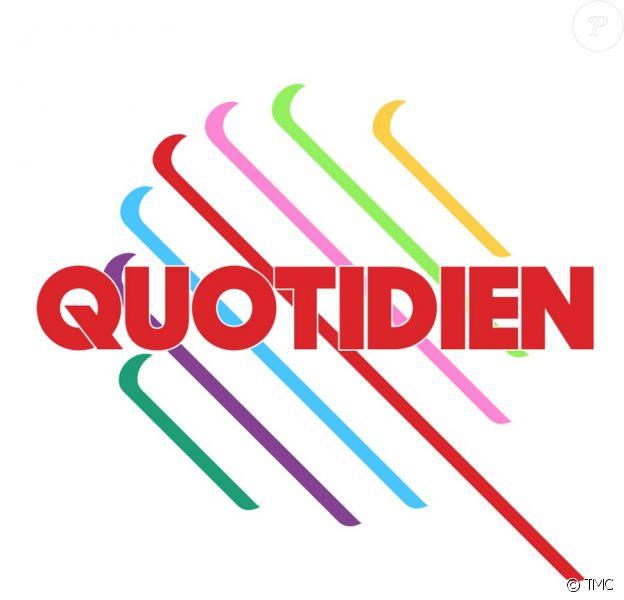"""Le logo de """"Quotidien""""."""