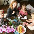 La femme de James Van Der Beek et leurs enfants, Instagram, 14 février 2018