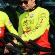 Le prince Albert II de Monaco, Gareth Wittstock, Charles Leclerc lors du Water Bike Challenge, au profit de la Fondation princesse Charlene de Monaco au départ du Yacht Club de Monaco le 17 juin 2018. © Bruno Bebert / Bestimage