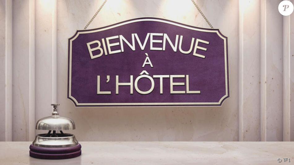 """""""Bienvenue à l'hôtel"""", émission diffusée du lundi au vendredi à 18h15 sur TF1."""