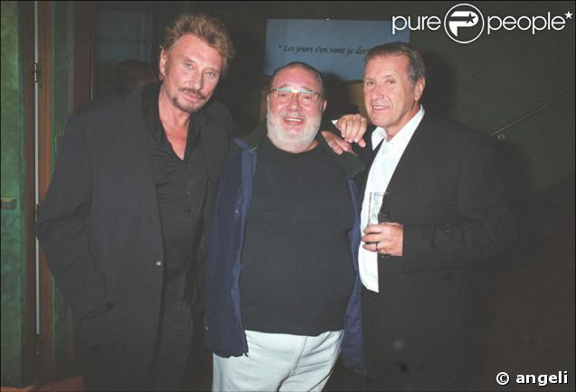 Johnny Hallyday , Carlos et Yves Renier