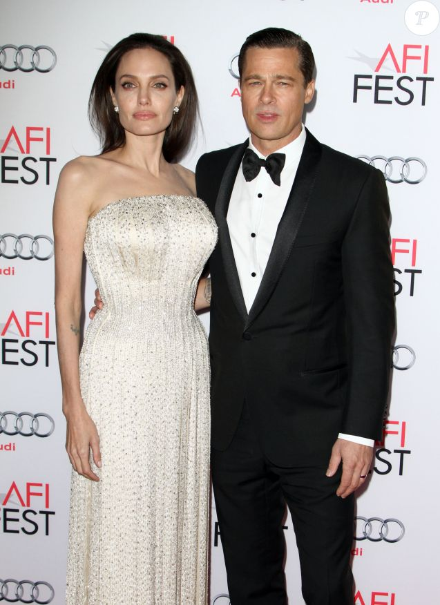 Brad Pitt Et Sa Femme Angelina Jolie