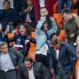 Valérie Begue, Dylan Deschamps, Mélanie Page lors du match de coupe du monde opposant la France au Pérou au stade Ekaterinburg à Yekaterinburg, Russie, le 21 juin 2018. La France a gagné 1-0. © Cyril Moreau/Bestimage