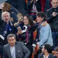 Valérie Begue, Dylan Deschamps lors du match de coupe du monde opposant la France au Pérou au stade Ekaterinburg à Yekaterinburg, Russie, le 21 juin 2018. La France a gagné 1-0. © Cyril Moreau/Bestimage