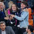 Valérie Begue, Dylan Deschamps complices lors du match de coupe du monde opposant la France au Pérou au stade Ekaterinburg à Yekaterinburg, Russie, le 21 juin 2018. La France a gagné 1-0. © Cyril Moreau/Bestimage
