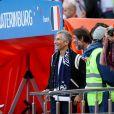 Nagui lors du match de coupe du monde opposant la France au Pérou au stade Ekaterinburg à Yekaterinburg, Russie, le 21 juin 2018. La France a gagné 1-0. © Cyril Moreau/Bestimage