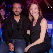 Maxim Nucci et Isabelle Ithurburu très enceinte devant Yannick Noah in love