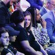 Maxim Nucci (Yodelice) et sa compagne enceinte Isabelle Ithurburu - Maxim Nucci (Yodelice) et sa compagne enceinte Isabelle Ithurburu assistent au match de boxe de Tony Yoka au palais des sports de Paris, le 23 juin 2018 © Veeren-CVS/Bestimage