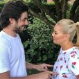 Katrina Patchett avec son mari Valentin d'Hoore sur Instagram, le 25 juin 2018.