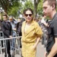 Virginie Ledoyen au défilé de mode Balmain homme collection printemps-été 2019 lors de la fashion week à Paris le 24 juin 2018 © Veeren/CVS/Bestimage