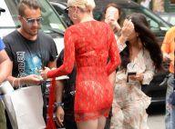 Lady Gaga : Canon en robe transparente, elle régale ses fans !