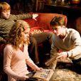 Ron, Hermione et Harry dans Harry Potter et le Prince de sang-mêlé