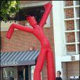 David Duchovny sur le tournage de Californication, le 16/04/09
