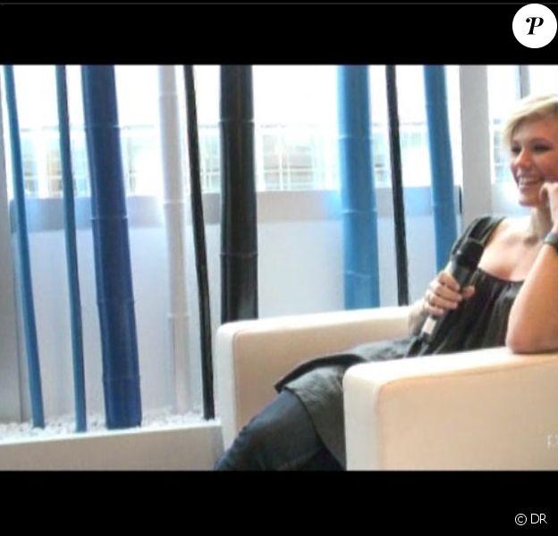 Lorie en interview avec Purepeople.com