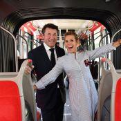 Laura Tenoudji et Christian Estrosi : Radieux pour une balade en tram dans Nice