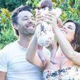 Laetitia Milot, son mari et sa fille - Instagram, juin 2018