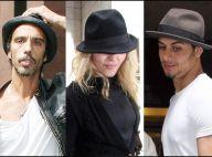 Madonna a converti les anciens hommes de sa vie... au borsalino ! Mais qui lui a tenu la main à l'hôpital ?