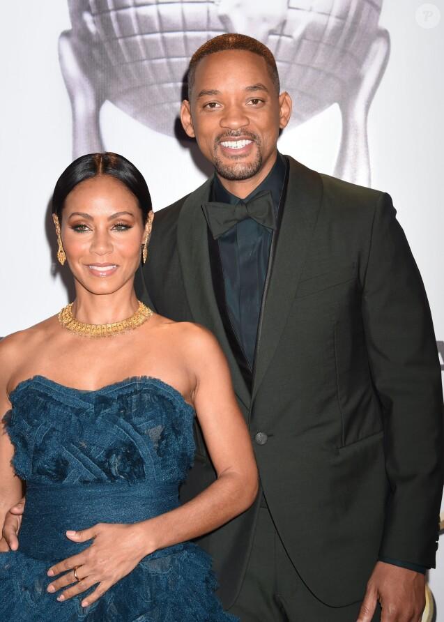 """Will Smith et sa femme Jada Pinkett Smith - Célébrités lors des 47ème """"NAACP Image Awards"""" à Pasadena le 5 février 2016"""