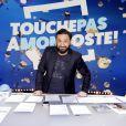 """Exclusif - Cyril Hanouna - Tournage de l'émission """"Touche pas à mon poste"""" (TPMP) à Boulogne-Billancourt le 22 janvier 2018. © Cédric Perrin/Bestimage"""