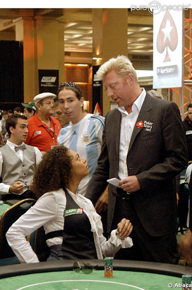 Boris Becker et Lilly Kerssenberg au tournoi de poker Pokerstars.net