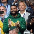 Drake à Wimbledon, le 10 juillet 2018.