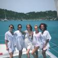 Les Miss à Saint-Barthélémy, le 11 juillet 2018.
