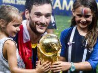 Hugo Lloris et ses filles, irrésistibles : Baisers à trois sur la Coupe du monde