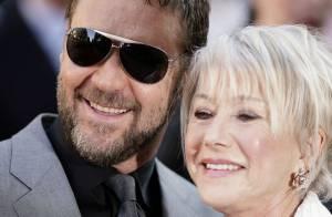 Russell Crowe et Helen Mirren... terriblement complices sur tapis rouge !
